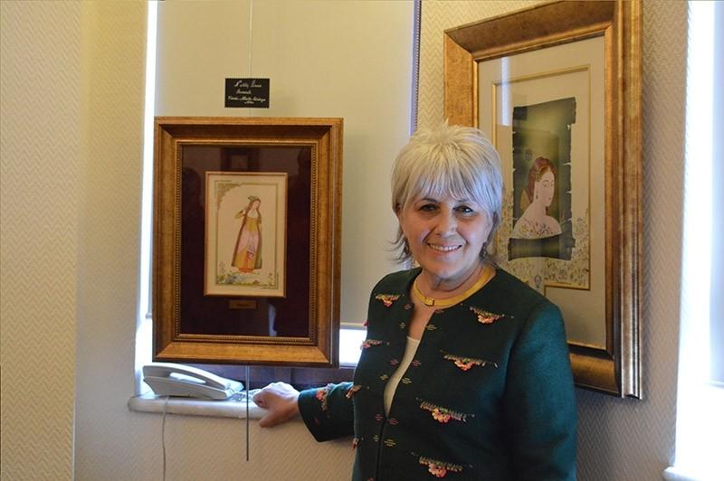 Ottoman women miniatures exhibit opens in Ankara. (AA Photo)