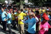 Elderly Turks dance on World Alzheimer's Day