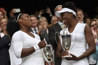 Williams sisters win sixth title in Wimbledon doubles final