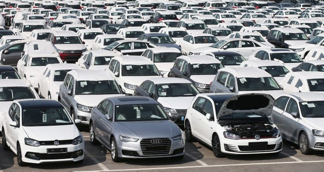 An undated picture made available on June 01, 2016 shows a general view of the Audi Volkswagen Korea's pre-delivery inspection center in Pyeongtaek, some 70 kilometers south of Seoul, South Korea. (EPA Photo)