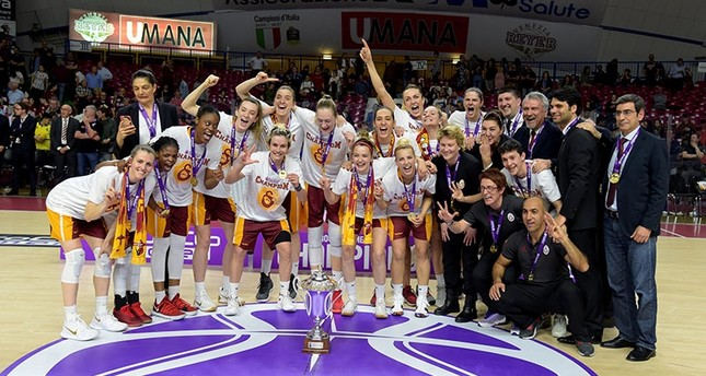 Galatasaray women's basketball team crowned EuroCup ...