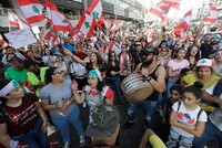 Protesters keep pressure on Hariri's government amid political deadlock