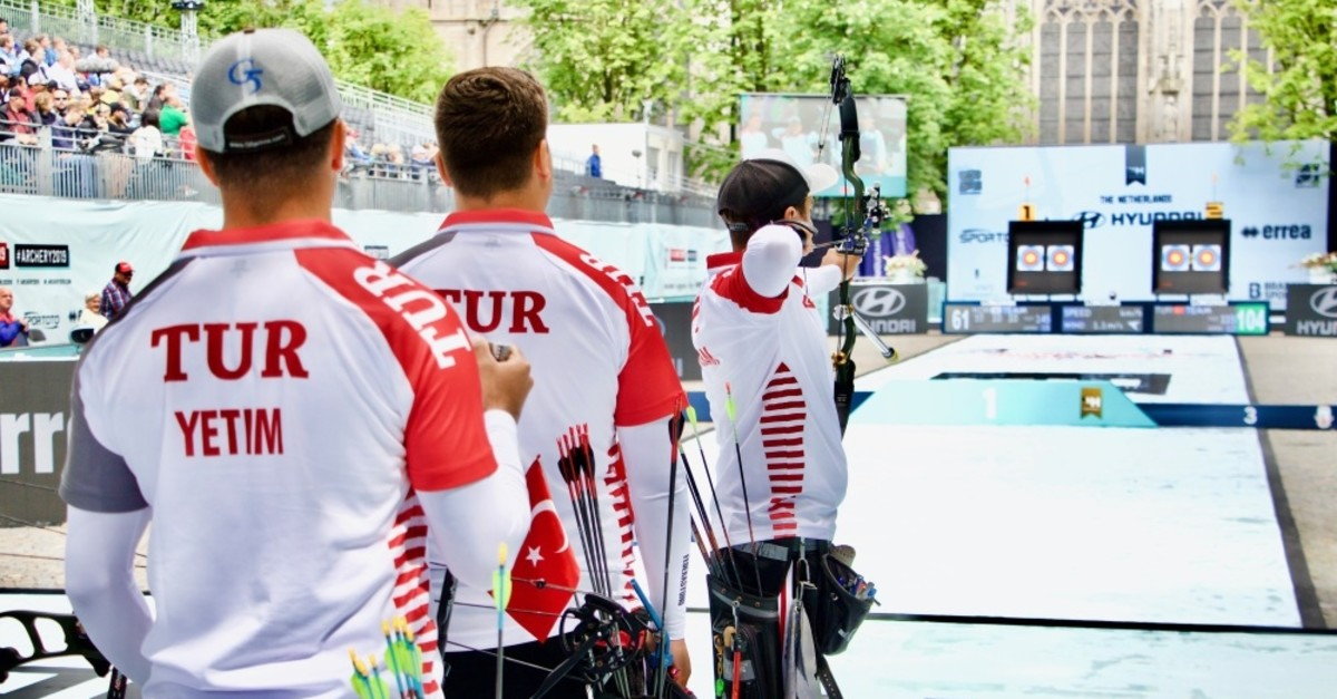 Turkish men's team was beaten 235-233 by South Korea in the final of the top-tier archery tournament.
