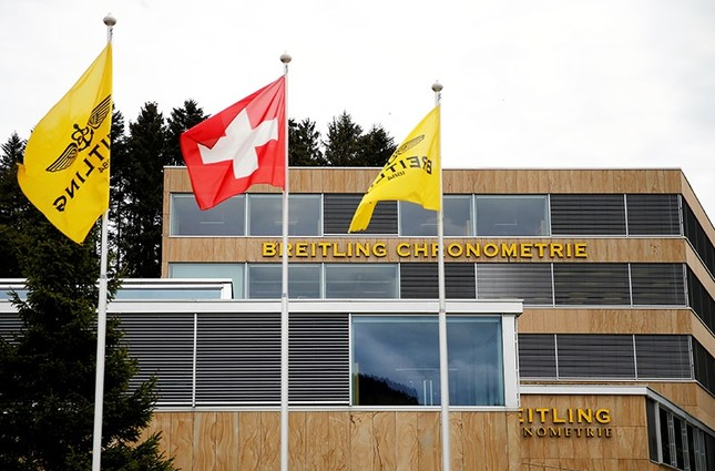 The headquarters of independent watchmaker Breitling are pictured in La Chaux-de-Fonds, Switzerland, May 26, 2016. (Reuters Photo)