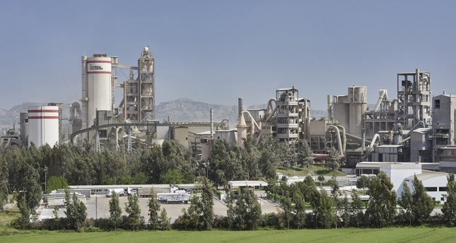 Oyak Çimento's plant in the southern province of Adana. Forty percent of the Turkish cement producer was acquired by Far Eastern Taiwan Cement Corporation (TCC) for an estimated $640 million last year.