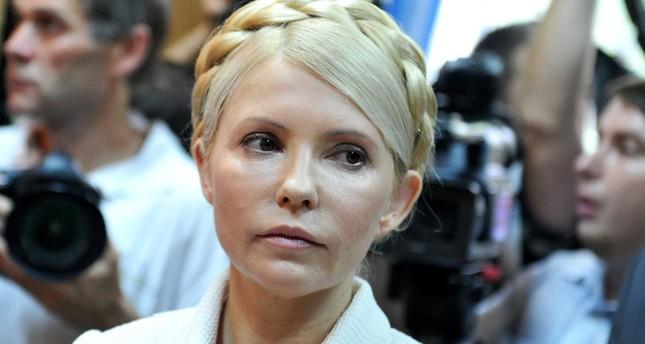 رئيسة وزراء أوكرانيا السابقة يوليا تيموشينكو