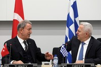 Defense Minister Akar, Greece's Apostolakis discuss bilateral issues