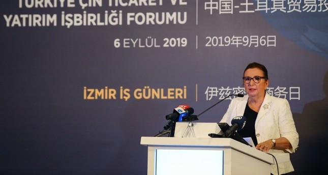 وزيرة التجارة التركية: الصين باتت ثالث أكبر شريك تجاري لنا في العالم