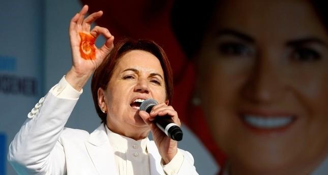 ميرال أكشينار - زعيمة الحزب الجيد المعارض