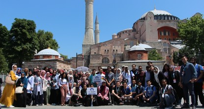 Muslim American, Canadian students learn about Turkish culture