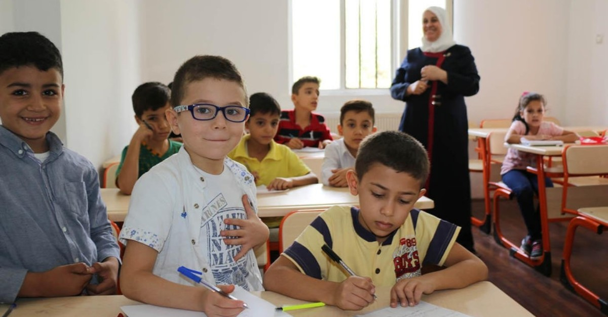 Syrian children living in Turkey have been integrated with the support of special education programs.