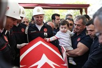 Hero firefighter who died after saving 3 in Istanbul hotel fire laid to rest