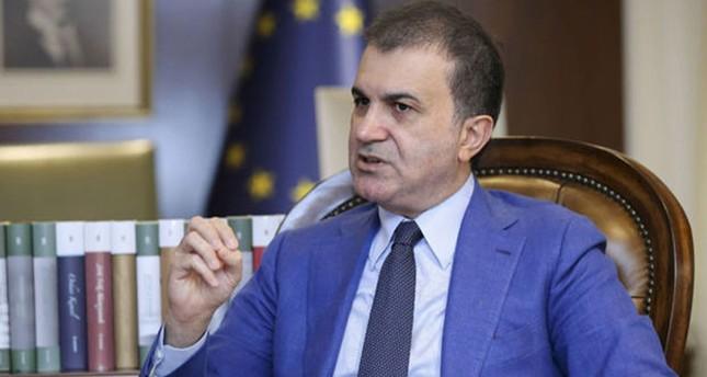 European Union Minister and Chief Negotiator Ömer Çelik. (FILE Photo)