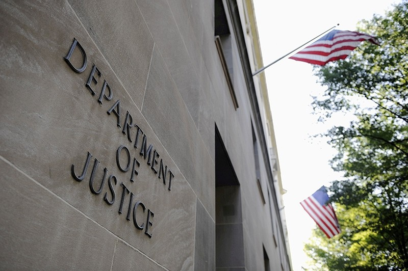 The exterior of the U.S. Department of Justice headquarters building in Washington, DC, U.S., July 14, 2009. (Reuters Photo)