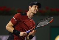 World number one Andy Murray crashed out of the ATP Indian Wells Masters on Saturday, toppled in straight sets by 129th-ranked Canadian qualifier Vasek Pospisil.