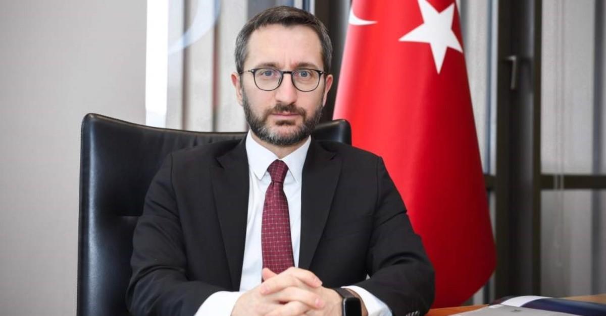 Presidential Communications Director Fahrettin Altun (File Photo)
