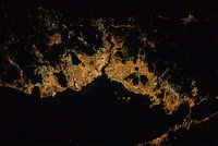 International Space Station commander shares beautiful night image of Istanbul