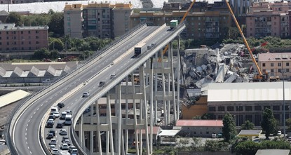 EU, Italy spar over deadly Genoa bridge collapse