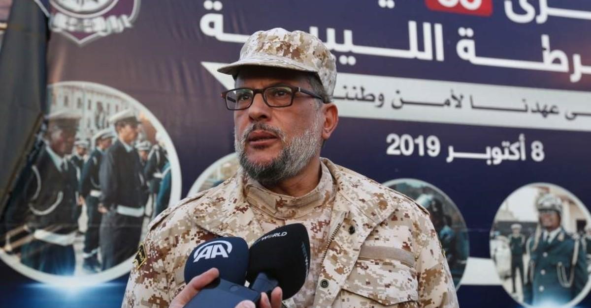 Nasir Ammar, commander of Libya's UN-backed Tripoli government army. (AA Photo)