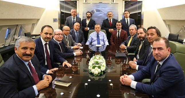 أردوغان يلمح إلى المشاركة في تكتل أمني مع الصين وروسيا كبديل من الاتحاد الأوروبي