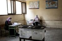 لجنة انتخابية بإحدى المدارس بالقاهرة اسوشيتد برس
