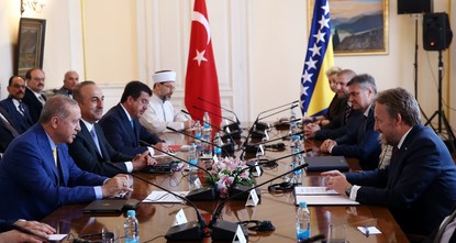 Erdoğan's visit to stimulate investments, trade with Bosnia