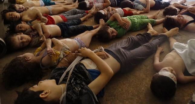 رئيس النظام السوري: الهجوم الكيميائي على خان شيخون مفبرك مئة في المئة