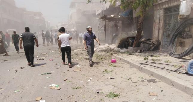 انفجار بمدينة الباب السورية خلال تفكيك قنبلة زرعت في سيارة