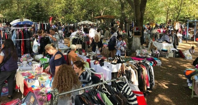 Last year's Kilyos Secondhand Festival hosted thousands of vistors.