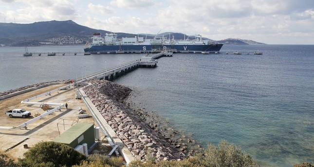 Turkey currently operates four LNG terminals – two of them are floating storage and regasification units (FSRU) and the remaining two are land facilities.
