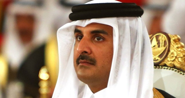 Qatari emir says life goes on normally in his country despite 'siege'