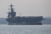حاملة الطائرات الأمريكية ثيودور روزفلت تدخل بحر الصين الجنوبي