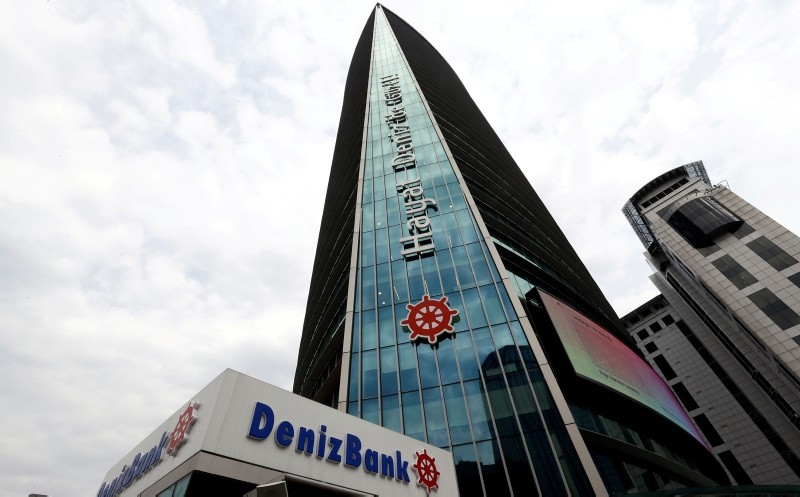 The headquarters of Turkey's Denizbank is pictured in Istanbul (Reuters File Photo)