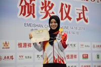 Turkish athlete becomes world Kung Fu champion in China