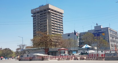 Blast rocks center of Afghanistan's capital Kabul