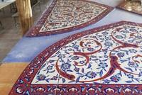 World colors baked at İznik tile workshop
