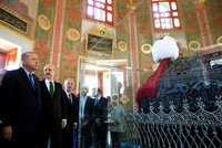 Erdoğan opens renovated tomb of Mehmed the Conqueror