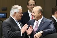 Der türkische Außenminister Mevlüt Çavuşoğlu und sein US-Amtskollege Rex Tillerson trafen sich zum ersten Mal am Donnerstag in Bonn, um einige Fragen der beiden Länder zu besprechen.  Die top...