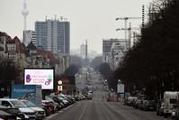 شارع قيصردام في برلين رويترز