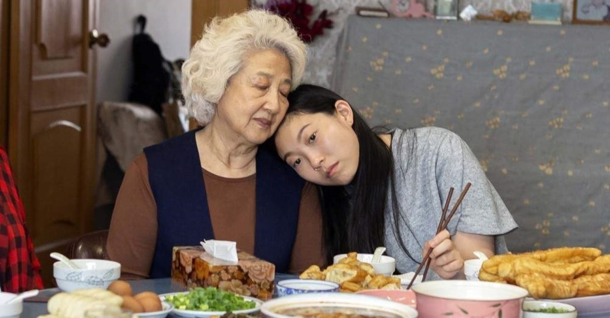 Zhao Shuzhen (left) and Awkwafina in a scene from ,The Farewell., (AP Photo)
