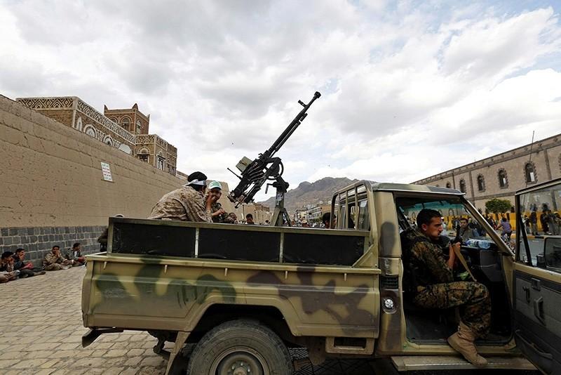 Houthi militia in Yemen (Sabah File Photo)