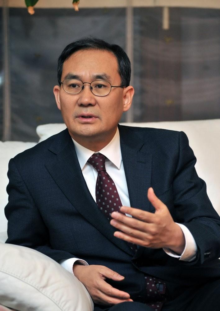 South Korea's ambassador to Ankara, Cho Yun-soo.