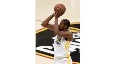 Durant's heroics power Warriors to brink of NBA crown