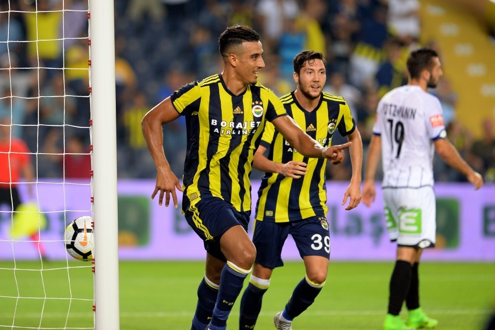 Fenerbahu00e7e eliminated Sturm Graz in the third qualifying stage.