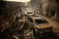 Lebanon turns to neighbors as wildfires burn out of control
