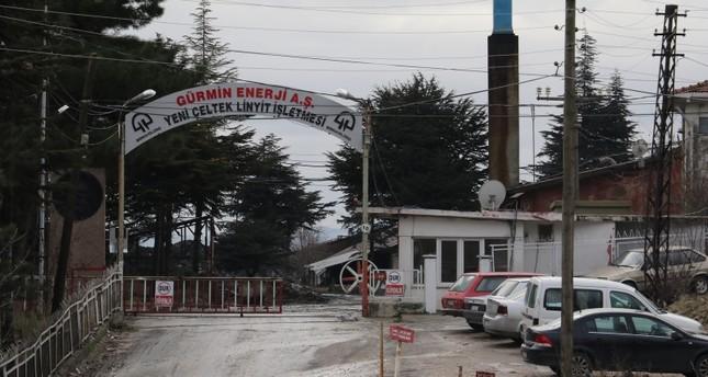 Undated photo of Yeniçeltek Mine's entrance. DHA Photo