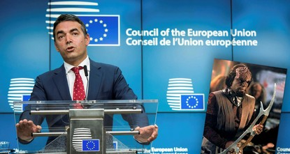 pMacedonian Foreign Minister Nikola Dimitrov has likened the widely used official name of his country to 'Klingon,' a name belonging to the fictional extraterrestrial humanoid warrior species in...