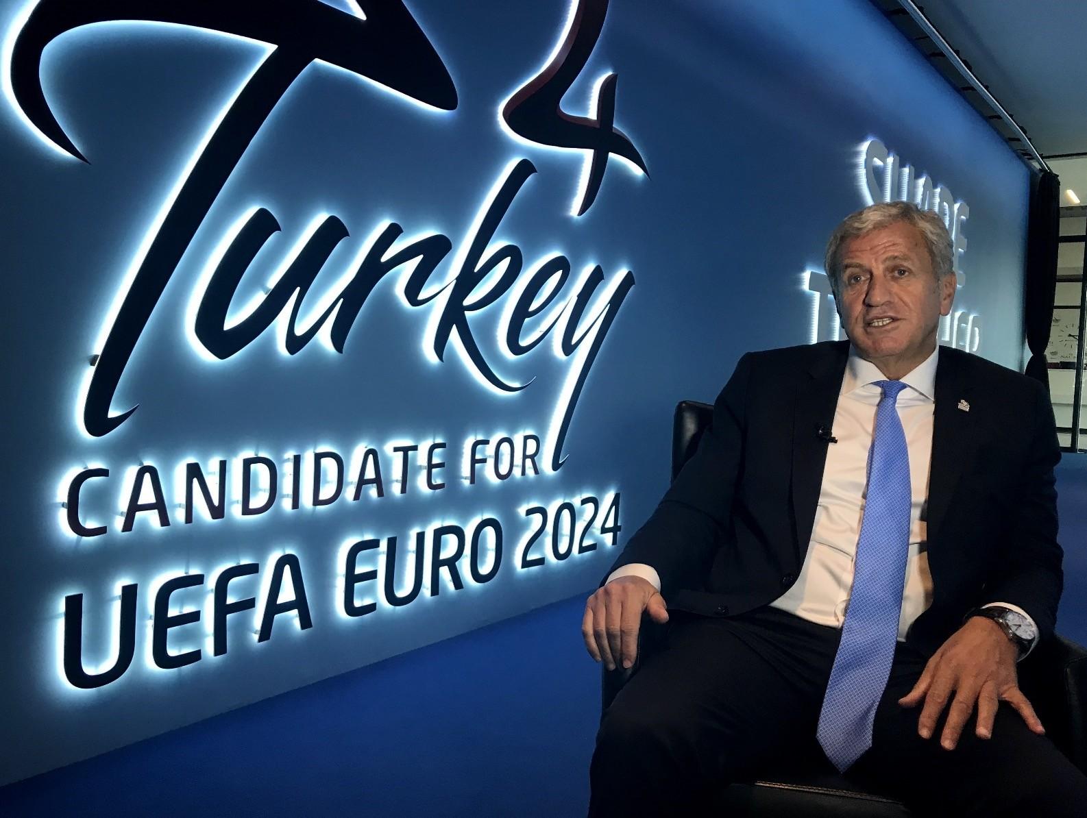 Turkish Football Federation Vice President Servet Yardu0131mcu0131.