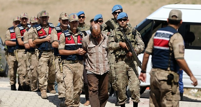 9 YPG terrorists caught in Afrin remanded by Turkish court
