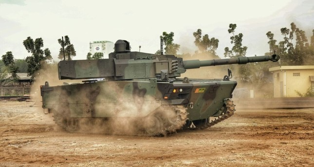 KAPLAN MT of FNSS is the first tank that the Turkish defense industry will export. (AA Photo)